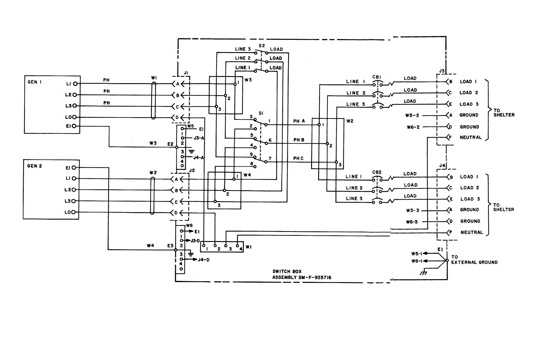 250v Schematic Wiring Diagram