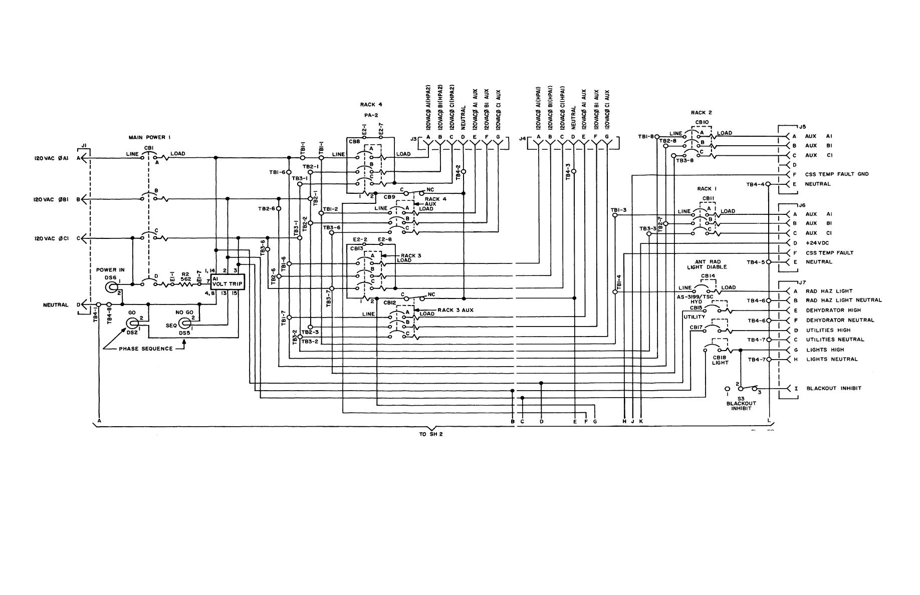 Wiring Panel Diagram Library L14 Electrical Diagrams Power Distribution Schematic Sheet 1 Of 2