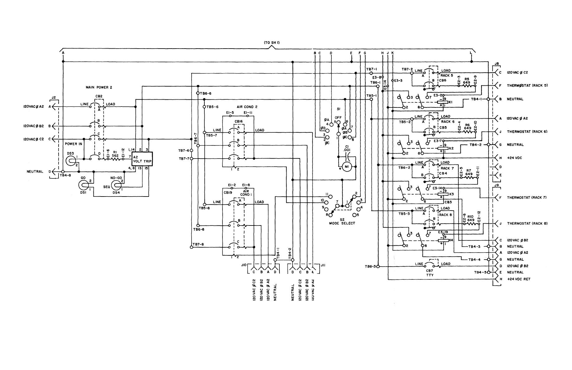 TM 11 5895 846 140385im figure fo 6 power distribution panel, schematic wiring diagram wiring diagram schematic at alyssarenee.co