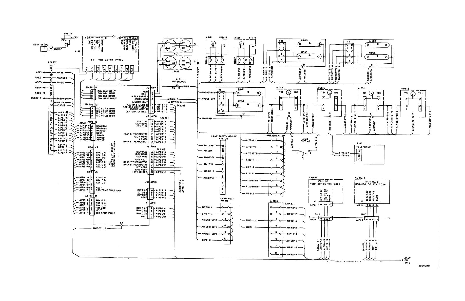 TM 11 5895 846 140386im figure fo 7 an tsc 86, interconnection wiring diagram (sheet 1 of 4) interconnection wiring diagram at webbmarketing.co